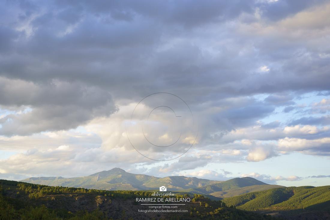 Montañas de la sierra pobre