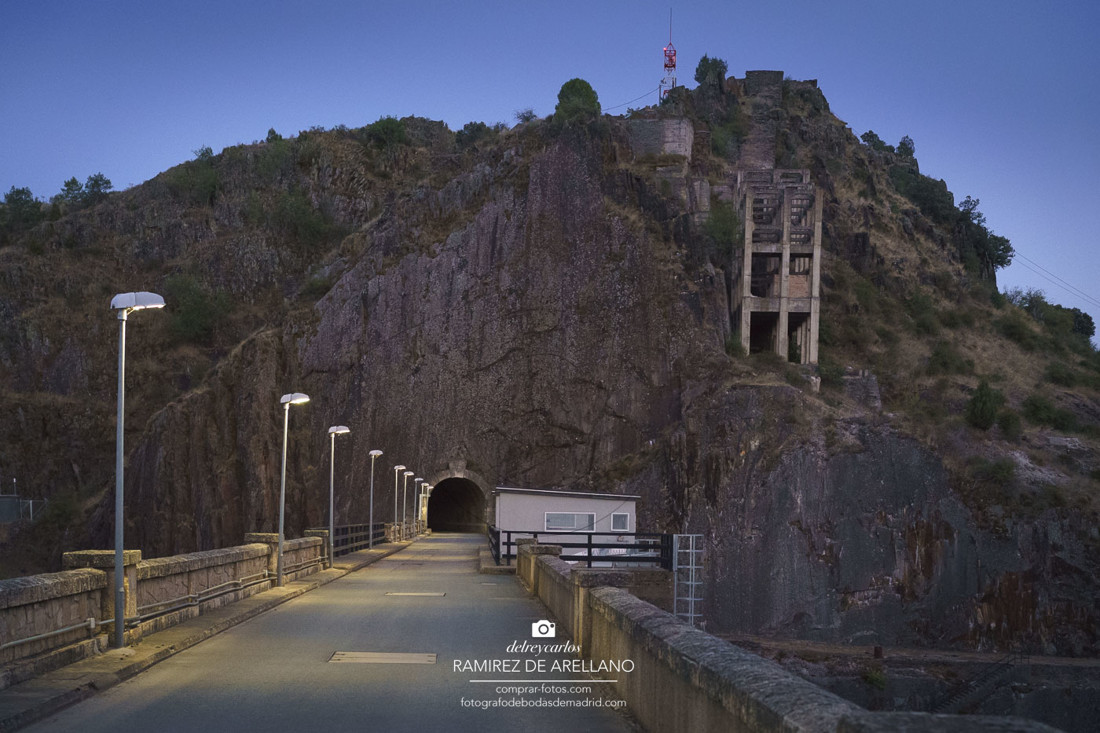 La presa de El Vado