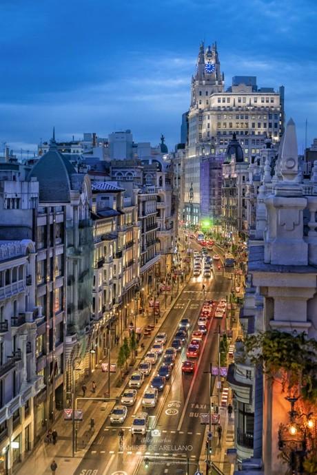 Comprar fotos de Madrid Gran Vía, Cibeles, Alcalá - LAS MEJORES FOTOS  COMPRAR FOTOS DE MADRID
